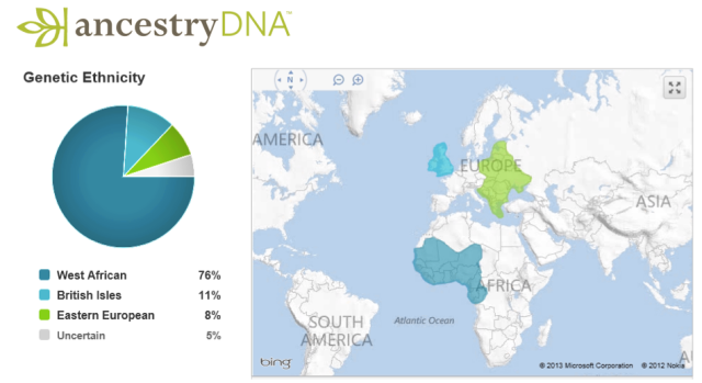 Renees-ethnicity-results